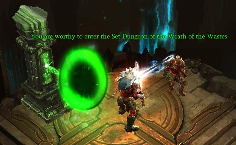 Set Dungeon Portal