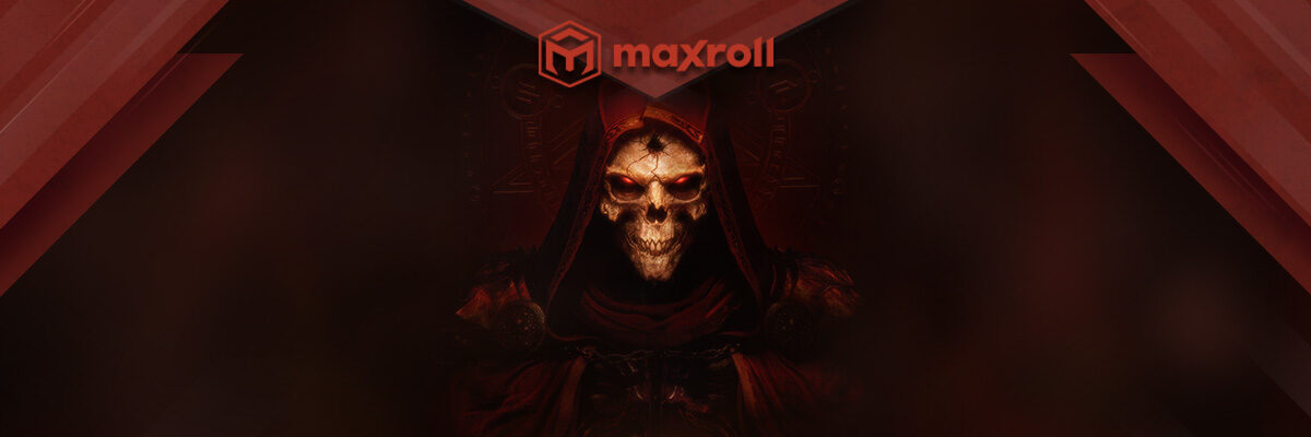 Diablo 2 Resurrected - New Maxroll Website Branch