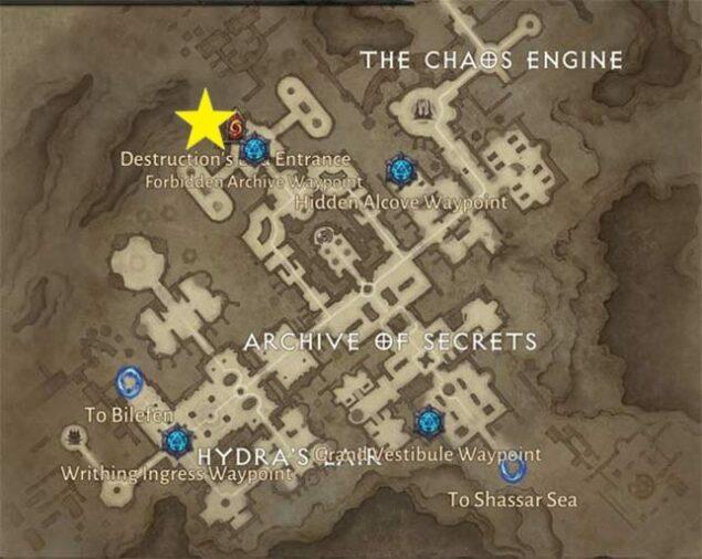 Destruction's End Map
