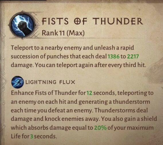 Fists of Thunder