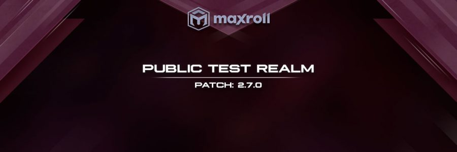 PTR 2.7.0 First Weekend Roundup
