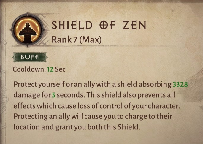 Shield of Zen