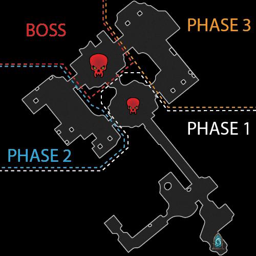 Forgotten Tower Dungeon Main Map