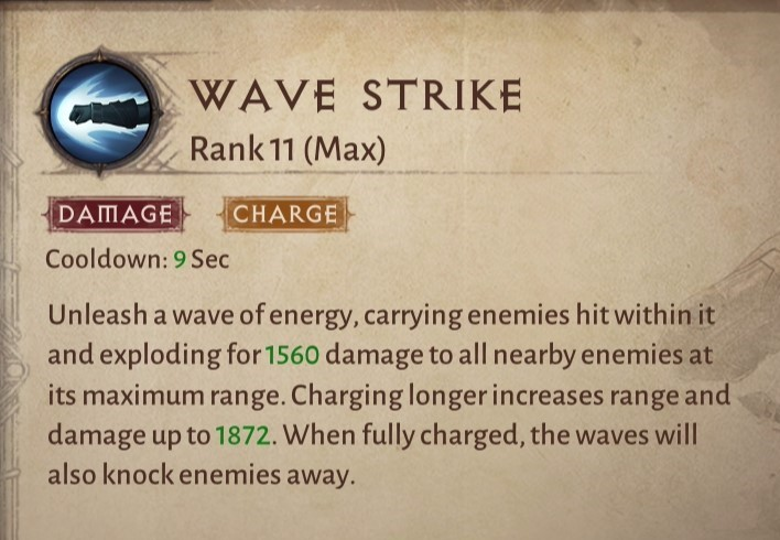 Wave Strike