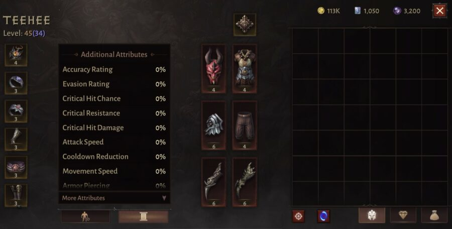 Monk Additional Attributes 1