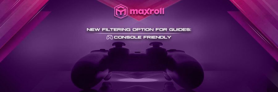 Filtering for Consoles
